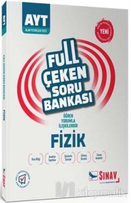 2019 AYT Fizik Full Çeken Soru Bankası Kolektif