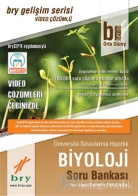 2019 B Serisi Biyoloji Soru Bankası Orta Düzey