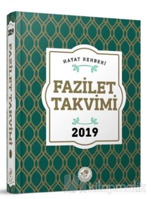 2019 Fazilet Takvim - Yurtiçi 6.Bölge Ciltli