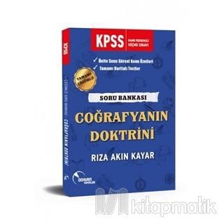 2019 KPSS Coğrafyanın Doktrini Çözümlü Soru Bankası