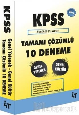 2019 KPSS Genel Yetenek Genel Kültür Tamamı Çözümlü 10 Deneme