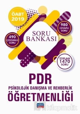2019 ÖABT PDR Psikolojik Danışma ve Rehberlik Öğretmenliği Soru Bankası