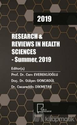 2019 Research Reviews in Health Sciences