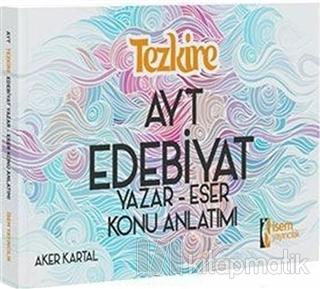 2019 Tezkire AYT Edebiyat Yazar Eser Konu Anlatım