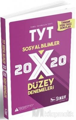 2019 TYT Sosyal Bilimler 20x20 Düzey Denemeleri Kolektif