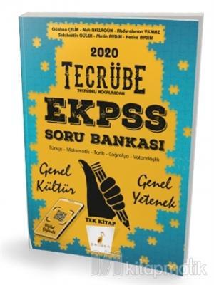 2020 EKPSS Tecrübe Genel Yetenek Genel Kültür Dijital Çözümlü Soru Bankası Tek Kitap