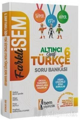2020 Farklı İsem 6. Sınıf Türkçe Soru Bankası