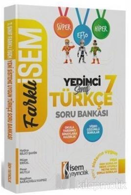 2020 Farklı İsem 7. Sınıf Türkçe Soru Bankası