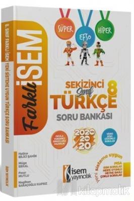 2020 Farklı İsem LGS 8. Sınıf Türkçe Soru Bankası
