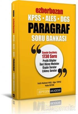 2020 KPSS ALES DGS Ezberbozan Paragraf Soru Bankası
