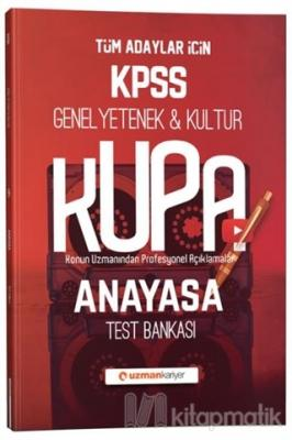 2020 KPSS Kupa Konu Konu Test Bankası Anayasa
