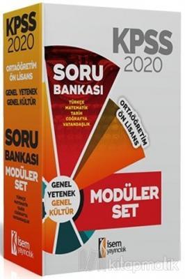 2020 KPSS Ortaöğretim Ön Lisans Soru Bankası Seti Kolektif