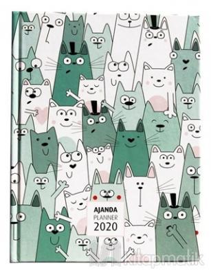 2020 Sweet Cats Haftalık Ajanda (3061)