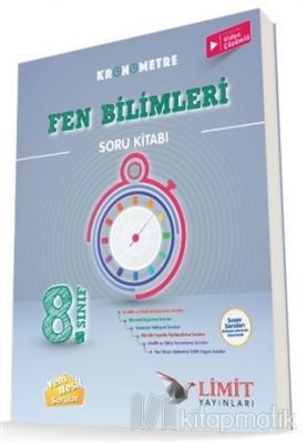 2021 8. Sınıf Kronometre Fen Bilimleri Soru Kitabı Kolektif