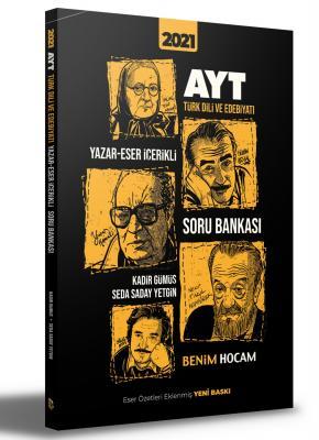 2021 AYT Türk Dili ve Edebiyatı Yazar-Eser İçerikli Soru Bankası Seda