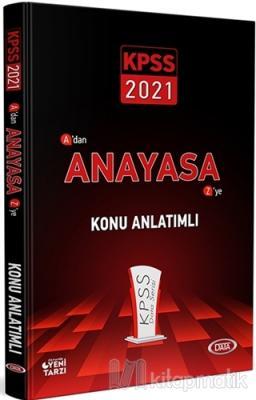 2021 KPSS A'dan Z'ye Anayasa Konu Anlatımlı Kolektif