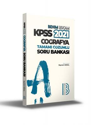 2021 KPSS Coğrafya Tamamı Çözümlü Soru Bankası Bayram Meral