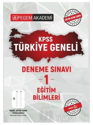 2021 KPSS Eğitim Bilimleri Türkiye Geneli Deneme Sınavı 1 Kolektif