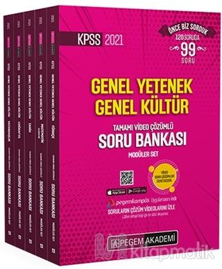 2021 KPSS Genel Yetenek Genel Kültür Tamamı Video Çözümlü Soru Bankası
