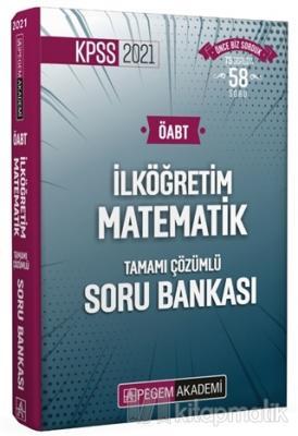2021 KPSS ÖABT İlköğretim Matematik Tamamı Çözümlü Soru Bankası Komisy