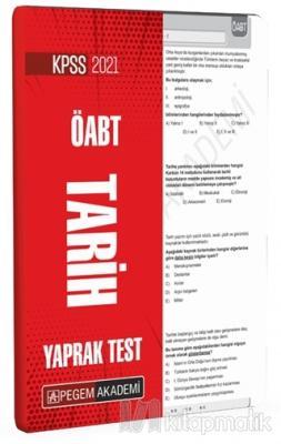 2021 KPSS ÖABT Tarih Yaprak Test Kolektif