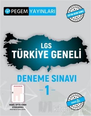 2021 LGS Türkiye Geneli Deneme Sınavı 1 Kolektif