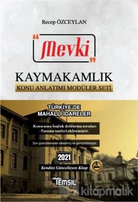 2021 Mevki Kaymakamlık Konu Anlatımı Modüler Seti - Türkiye'de Mahalli