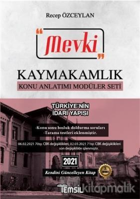 2021 Mevki Kaymakamlık Konu Anlatımı Modüler Seti - Türkiye'nin İdari