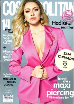 Cosmopolitan Dergisi Sayı: Şubat 2020