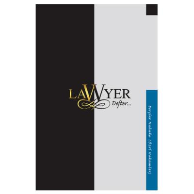 Lawyer Defter - Borçlar Hukuku (Özel Hükümler) Notlu Öğrenci Defteri