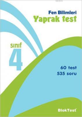 4. Sınıf Fen Bilimleri Yaprak Test