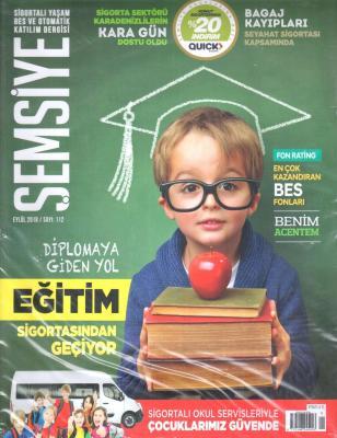 Şemsiye Sigortalı Yaşam Bes Ve Otomatik Katılım Dergisi Sayı:112 Eylül 2018