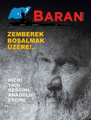 Baran Dergisi Sayı:625 3 Ocak 2019