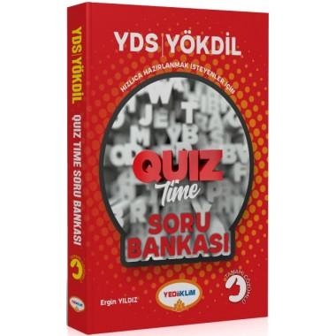 Yediiklim Yayınları YDS YÖKDİL QUIZTIME Tamamı Çözümlü Soru Bankası