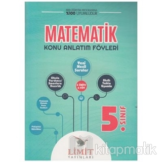 5. Sınıf Matematik Konu Bitirme Föyü Kolektif