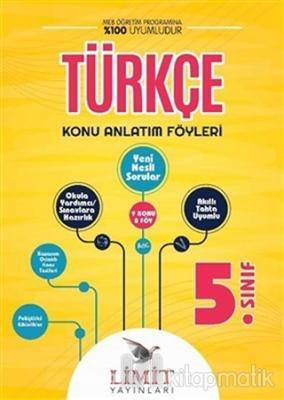 5. Sınıf Türkçe Konu Bitirme Föyü