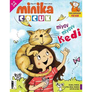 Minika Çocuk Dergisi Sayı.27 Mart 2019