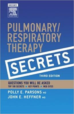 Pulmonary/Respiratory Therapy Secrets with STUDENT CONSULT Access 3rd Edition