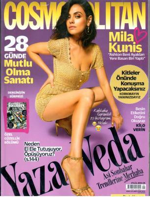 Cosmo Polıtan Dergisi Sayı:177 Eylül 2018