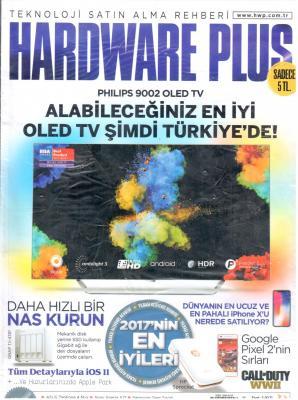 Hardware Plus Dergisi Sayı:56 Aralık 2017