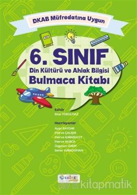 6. Sınıf Din Kültürü ve Ahlak Bilgisi Bulmaca Kitabı