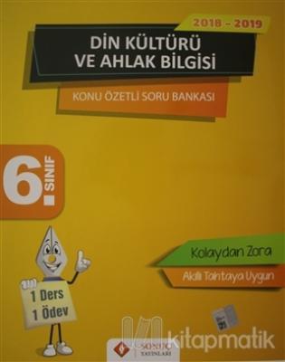 6. Sınıf Din Kültürü ve Ahlak Bilgisi Konu Özetli Soru Bankası