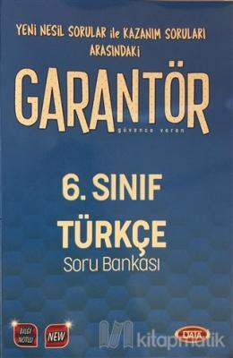 6. Sınıf Garantör Türkçe Soru  Bankası