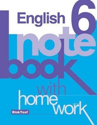 6. Sınıf İngilizce Notebook (English Notebook with Home Work)