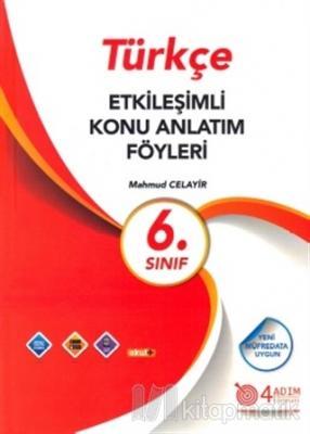6. Sınıf Türkçe Etkileşimli Konu Anlatım Föyleri