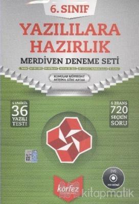 6. Sınıf Yazılılara Hazırlık Merdiven Deneme Seti (DVD'li)