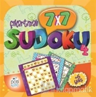 7x7 Çıkartmalı Sudoku - 4 (Çıkartmalı) Kolektif