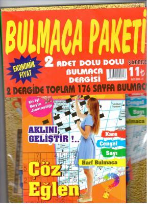 Bulmaca Paketi Dergisi Sayı: 2020-41