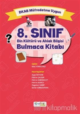 8. Sınıf Din Kültürü ve Ahlak Bilgisi Bulmaca Kitabı