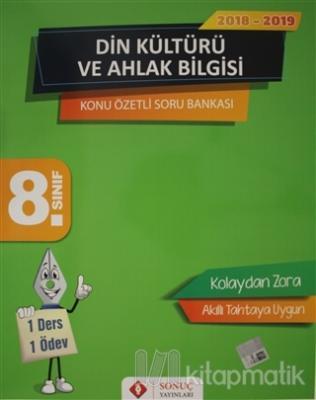 8. Sınıf Din Kültürü ve Ahlak Bilgisi Konu Özetli Soru Bankası